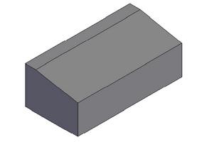 Блок бетонный Б5