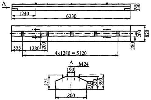 подкрановые балки БРП 62.8.3-16