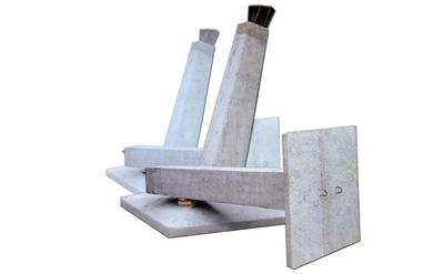 Фундамент с наклонной стойкой