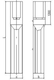 Фундамент для центрифугированных опор