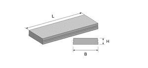 Плита канальная ВП 28-12